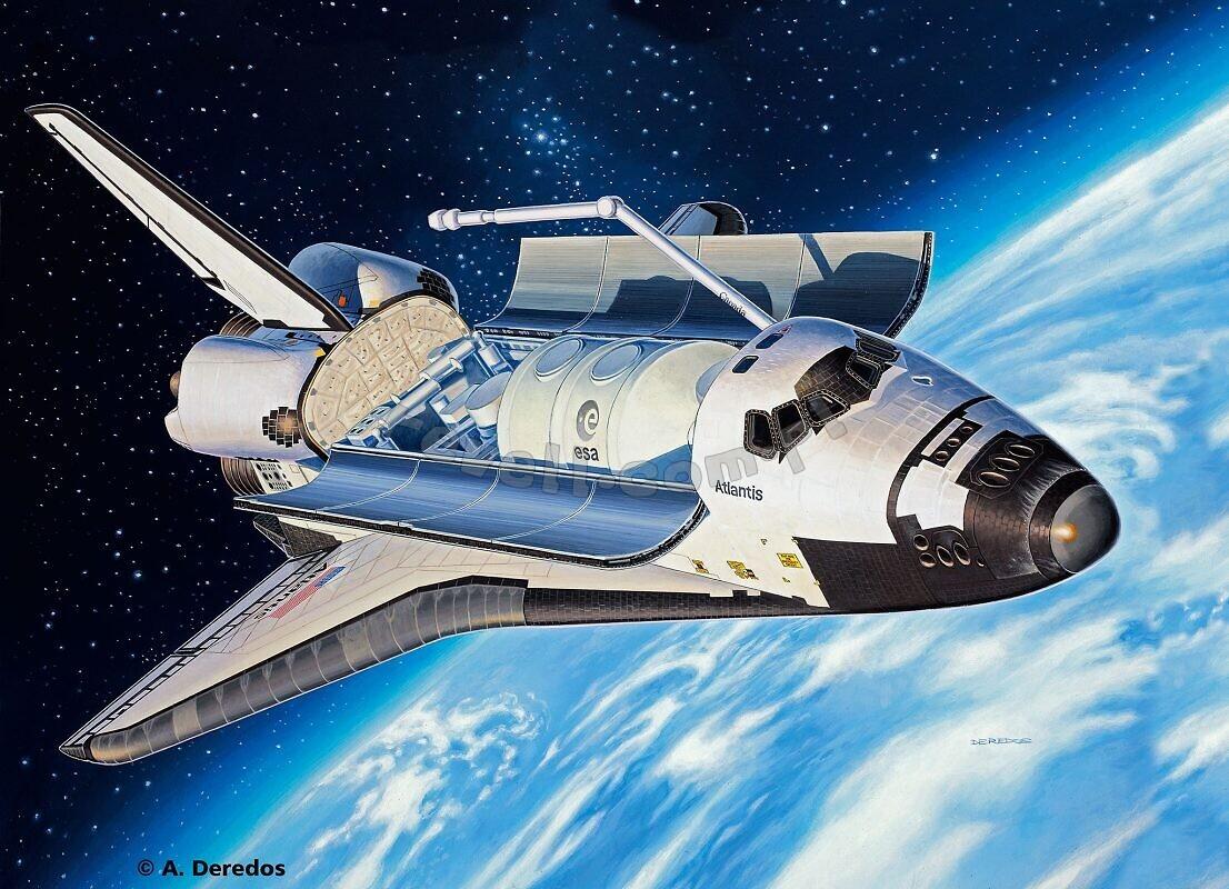atlantis space shuttle snow globe - photo #22