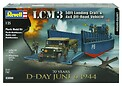 D-Day Set LCM3 50ft Landing Craft & Jeep with Trailer