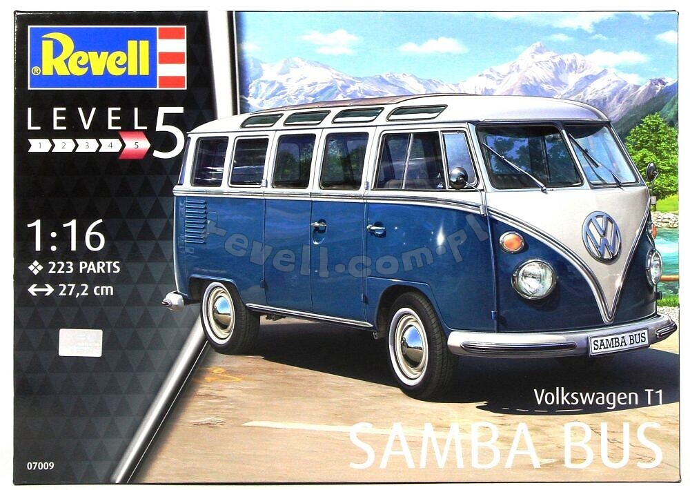 vw t1 samba bus modele do sklejania dla modelarzy 12. Black Bedroom Furniture Sets. Home Design Ideas