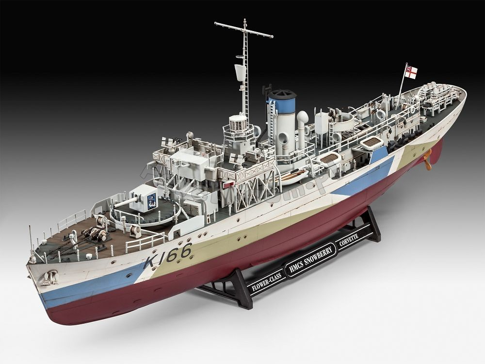 Flower Class Corvette Hmcs Snowberry Modele Do Sklejania