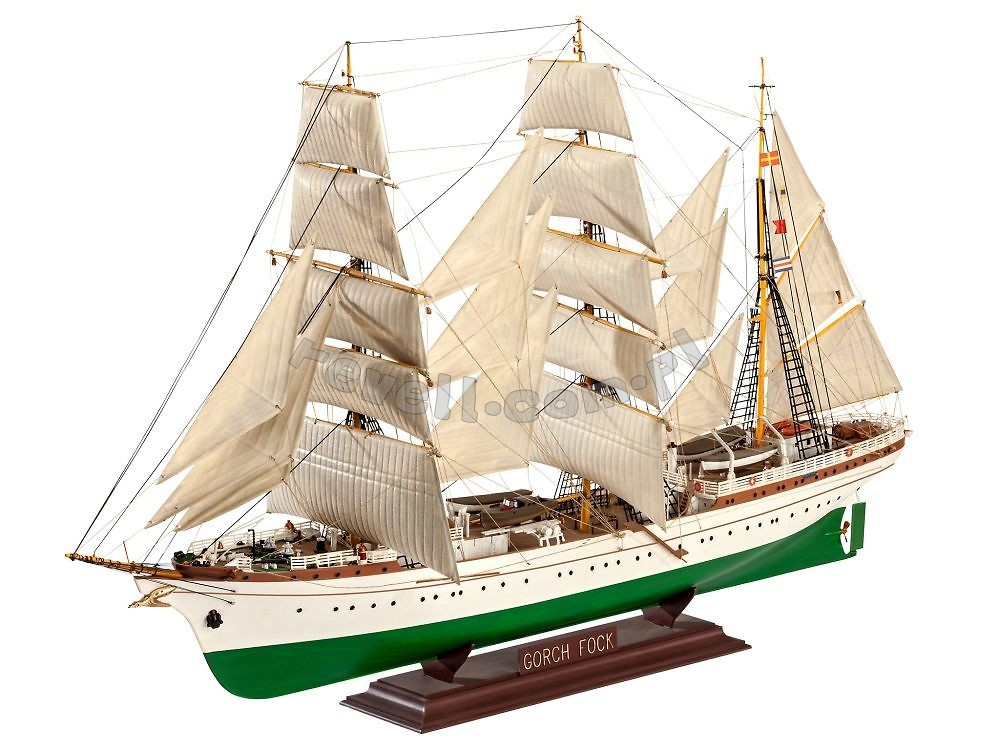 gorch fock modele do sklejania dla modelarzy 12 sklep. Black Bedroom Furniture Sets. Home Design Ideas