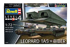 "Leopard 1A5 & Bridgelayer ""Biber"""