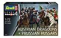 Seven Years War Austrian Dragoons + Prussian Hussars