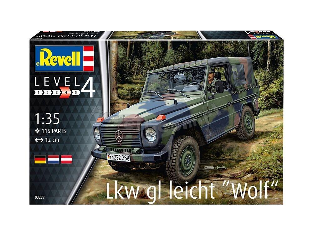 Lkw gl leicht Wolf - Samochody wojskowe do sklejania: modele samochodów  wojskowych - dla modelarzy 8+ | Sklep Revell.com.pl